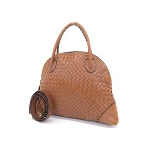 BOTTEGAVENETA Bottega Veneta Intrecherto Tassel 2way handbag shoulder leather brown 20190705