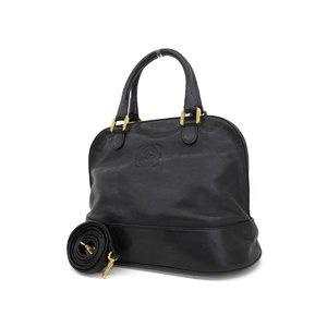 LOEWE Loewe Anagram 2way handbag shoulder leather black vintage 20190712
