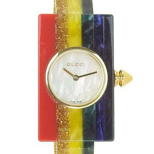 GUCCI Gucci Vintage Web Medium Watch Quartz Rainbow Shell Dial 472735 J33Y0 8521 YA143520