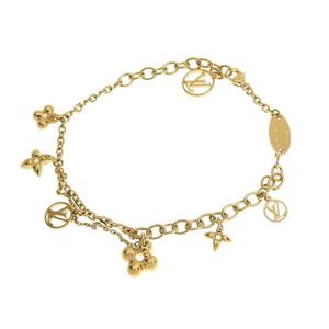 LOUIS VUITTON Louis Vuitton Blassle Blooming Monogram Flower Bracelet Gold Women's M64858