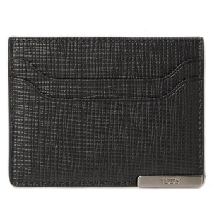 Tod's Card Case Business Holder TOD'S Men's Line Black Calf Stamped XAMBRRF0200NPHB999