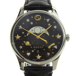 Genuine GUCCI Gucci G Timeless Moonphase Ladies Quartz Watch 126.4