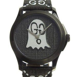 Genuine GUCCI Gucci G Timeless Ghost Boys Quartz Watch 126.4