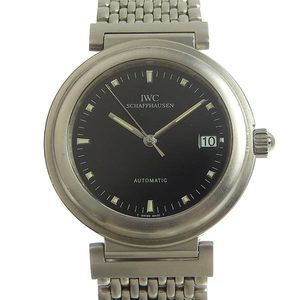 Genuine IWC Schaffhausen Da Vinci SL Mens Automatic Watch Black Dial IW352805