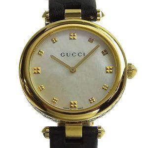 Genuine GUCCI Gucci Dimantissima Ladies Quartz Watch White Shell Dial 141.4