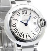 カルティエ(Cartier) バロンブルー クォーツ ステンレススチール(SS) レディース 高級時計 W69010Z4