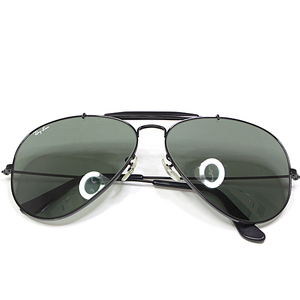 Ray-Ban sunglasses OUTDOORSMAN B & L L2114 Bosushrom 62 □ 14 green black metal glass teardrop