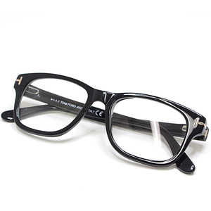 Tom Ford TOM FORD Glasses Frame TF5147 001 52 □ 17 145 Black Plastic Date with Demo Lens