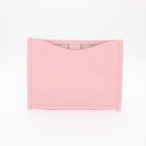 Hermes Leather Accessory Marron,Rose Sakura FLANEUR FOPEVER Petit Ash Multi Case