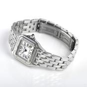 カルティエ(Cartier) パンテール・デ・カルティエ クォーツ ステンレススチール(SS) レディース 高級時計 パンテールSM