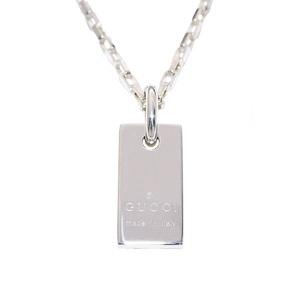 Gucci Plate Silver 925 Unisex Casual Pendant (Silver)