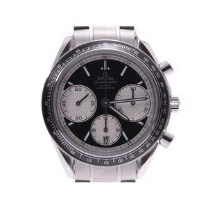 オメガ スピードマスター レーシング 326.30.40.50.01.002 SS 黒文字盤 メンズ SS 自動巻 腕時計 OMEGA 箱 ギャラ 新品 銀蔵