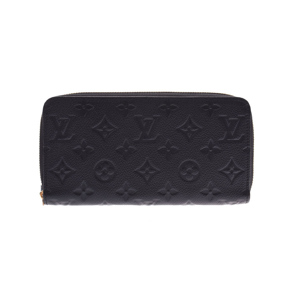free shipping 2f0d5 5c0f7 Louis Vuitton Anplant Zippy Wallet Noir M61864 Women's Genuine Leather Long  A Rank LOUIS VUITTON Used Ginzo | eLady.com