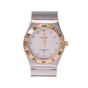 オメガ コンステレーション 1362.3 白文字盤 レディース YG/SS クオーツ 腕時計 Aランク OMEGA 中古 銀蔵