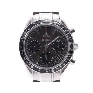 オメガ スピードマスター デイト グレー文字盤 323.30.40.40.06.001 メンズ SS 自動巻 腕時計 Aランク 美品 OMEGA 中古 銀蔵