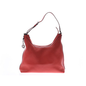 Gucci shoulder bag red outlet Ladies leather one-shoulder