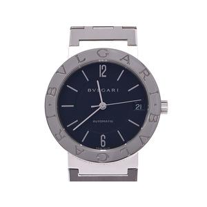 ブルガリ ブルガリブルガリ BB33SS 黒文字盤 メンズ レディース SS 自動巻 腕時計 Aランク BVLGARI 中古 銀蔵