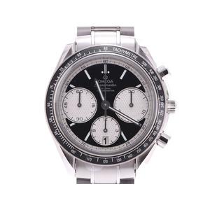 オメガ スピードマスターレーシング 326.30.40 黒文字盤 メンズ SS 自動巻 腕時計 新品 OMEGA 箱 ギャラ 銀蔵