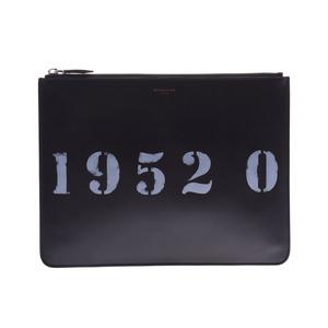 ジバンシィ(Givenchy) ジバンシー クラッチバッグ 黒 メンズ レディース カーフ ABランク GIVENCHY 中古 銀蔵
