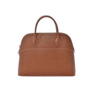 Hermes Bolide 37 Gold G Hardware Ladies Courchevel 2WAY Handbag