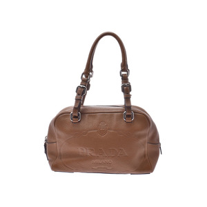 Prada Handbag Camel BR3106 Ladies calf
