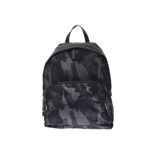 Prada backpack Blue camouflage pattern 2VZ066 Men's Women's nylon Backpack