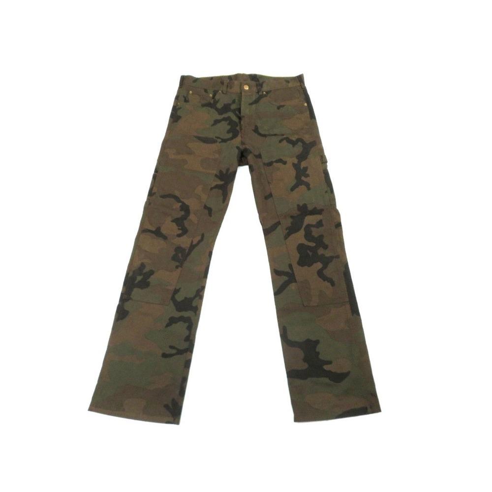 purchase genuine on feet images of price Louis Vuitton × Supreme Camouflage Dungaree Denim Pants Cargo Size 33 LV  0109 LOUIS VUITTON Men | eLady.com