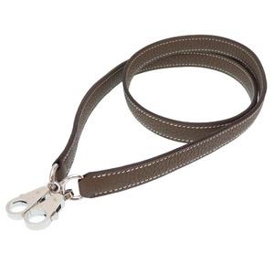 Like new Hermes Tryon Clemence Etope Silver hardware Shoulder strap Kelly 0206 HERMES