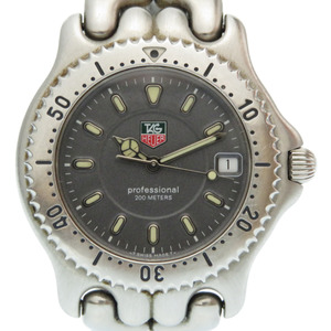 Tag Heuer Cell Series Date Quartz Watch WG1113-K0 SS Gray Dial 0273 TAG HEUER Men