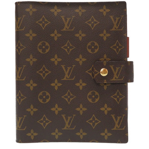 Like new Louis Vuitton Monogram Agenda GM notebook cover R20106 LV 0072 LOUIS VUITTON