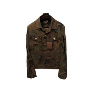 Louis Vuitton × Supreme Camouflage Denim Tracker Khaki 1A3FE6 Jacket LV 0196 LOUIS VUITTON Men