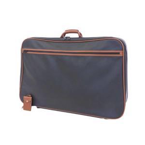 BOTTEGAVENETA Bottega Veneta Marco Polo Boston bag Carry Suitcase PVC black brown 20190712