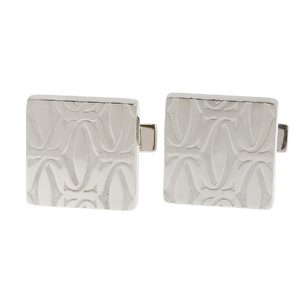 Cartier Happy Birthday cufflinks SV925 silver logo 20190705