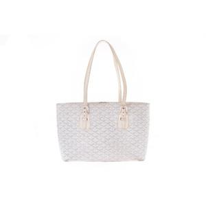 Goyard PVC Bag White