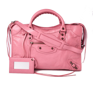 Balenciaga Handbag Shoulder Bag City BALENCIAGA Editor's The Pink 115748 Outlet