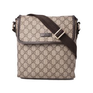 Gucci shoulder bag messenger GUCCI GG plus brown beige 223666