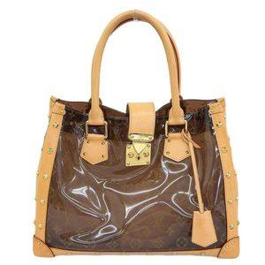 Louis Vuitton LOUIS VUITTON monogram vinyl neo-cover Amble MM tote bag M92504