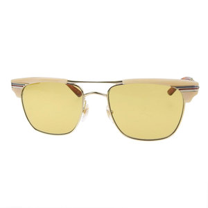 Gucci Square Sunglasses Beige,Emerald,Yellow Square sunglasses