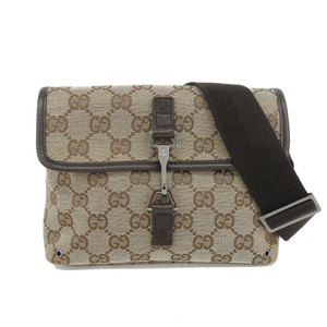 Gucci GG Canvas Waist Bag Canvas Fanny Pack Brown