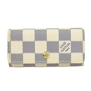 Louis Vuitton Damier Azur Multicule 4 Damier Azur Key Case Damier Azur