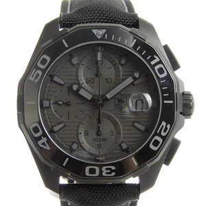Genuine TAG Heuer Aquaracer Black Phantom Men's Automatic Watch CAY218B