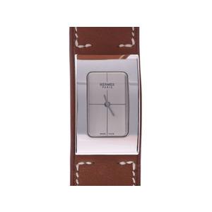 HERMES SHELLS MIDI Steel Leather Quartz Ladies Watch CM1.210