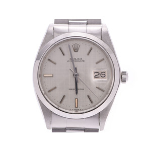 Rolex Oyster Date Silver Dial 6694 Antique Men's Women's SS / Nylon Manual Winding Watch A Rank ROLEX Used Ginzo