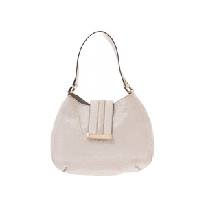 Gucci Shima One Shoulder Bag White Ladies Calf B Rank GUCCI Used Ginzo
