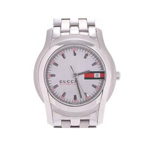 Gucci Silver Dial YA055205 5500 Men's SS Automatic Wrist Watch New Goods GUCCI Box Gala Ginzo