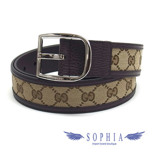 Gucci GG canvas mens belt size 90 20190709