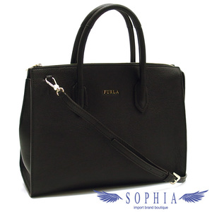 Furla pin M size 2WAY bag black 20190718