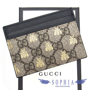 Gucci GG Supreme B Card Case Business Holder 20190727