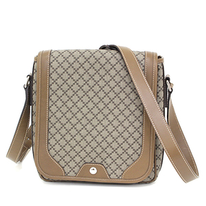 Gucci GUCCI Diamante Shoulder Bag PVC Leather Light Brown Beige 295679 Messenger Unused