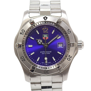 TAG HEUER Heuer Ladies Watch Aqua Racer WK1316-1 Blue Dial Quartz